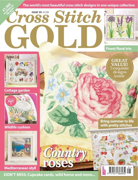 Cross Stitch Gold Cover - 6/1/2015