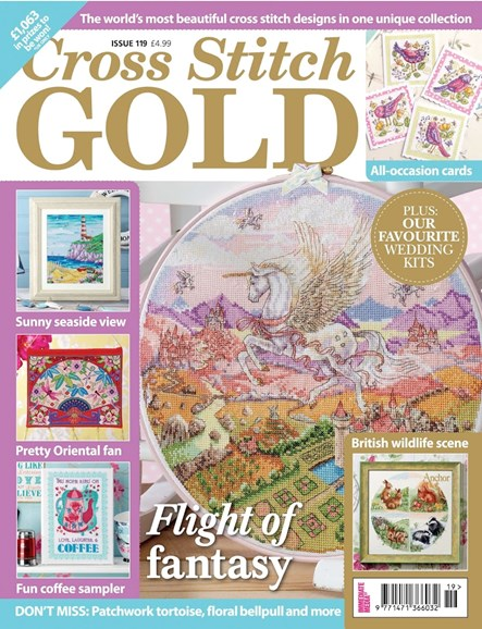 Cross Stitch Gold Cover - 3/1/2015