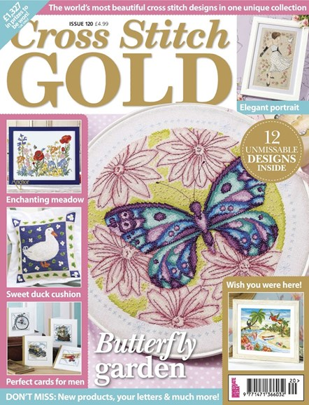 Cross Stitch Gold Cover - 5/1/2015