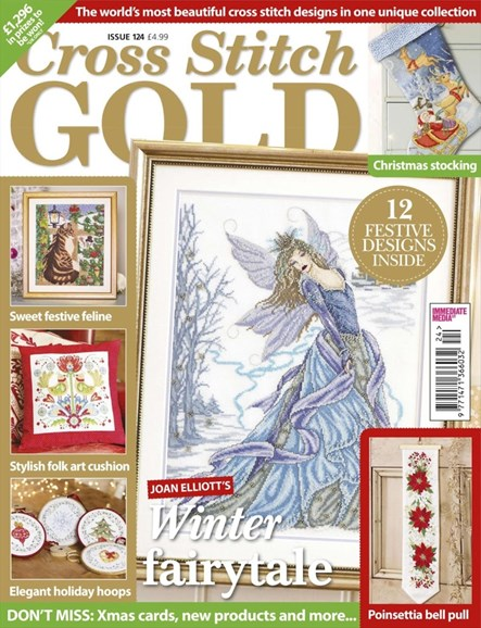 Cross Stitch Gold Cover - 10/1/2015