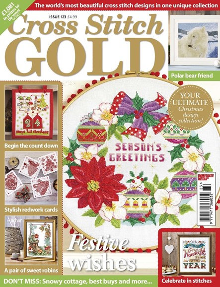 Cross Stitch Gold Cover - 9/1/2015