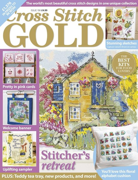 Cross Stitch Gold Cover - 8/1/2013