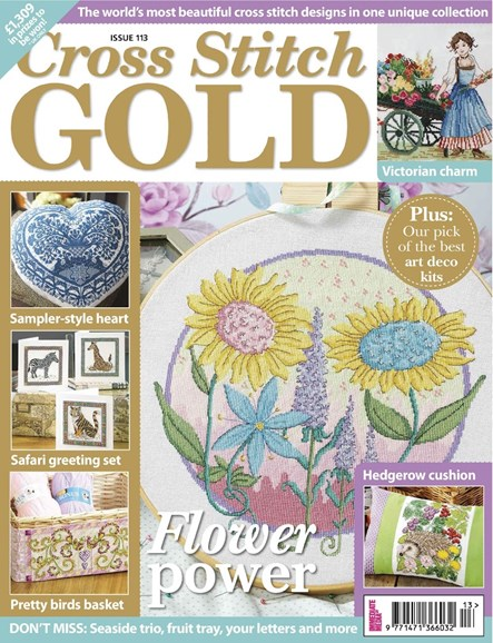Cross Stitch Gold Cover - 8/1/2014