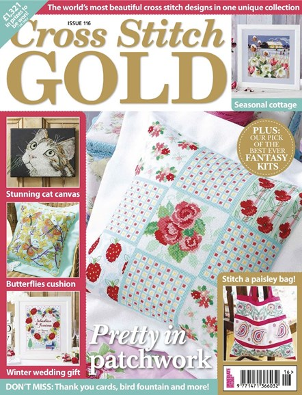 Cross Stitch Gold Cover - 12/1/2014