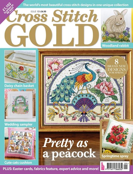 Cross Stitch Gold Cover - 2/1/2014