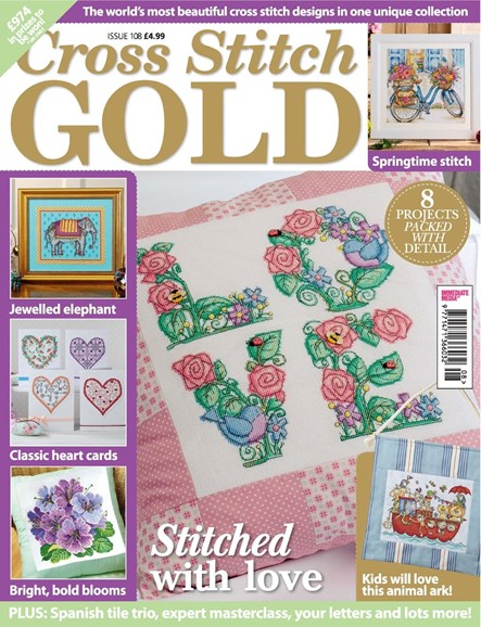 Cross Stitch Gold Cover - 1/1/2014