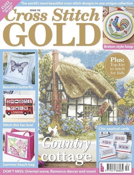 Cross Stitch Gold Cover - 6/1/2014