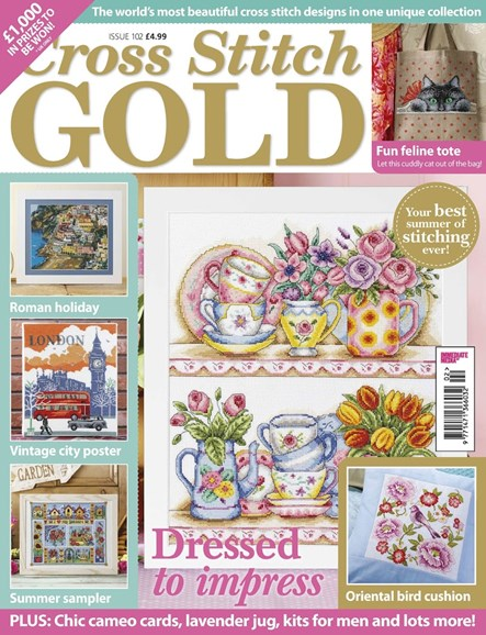 Cross Stitch Gold Cover - 5/1/2013
