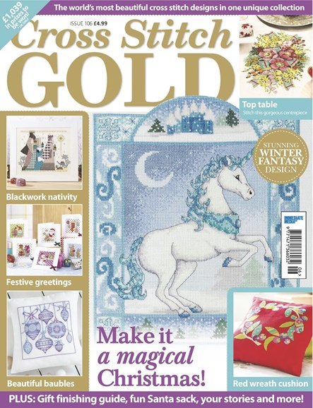 Cross Stitch Gold Cover - 10/1/2013