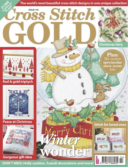 Cross Stitch Gold Cover - 9/1/2014