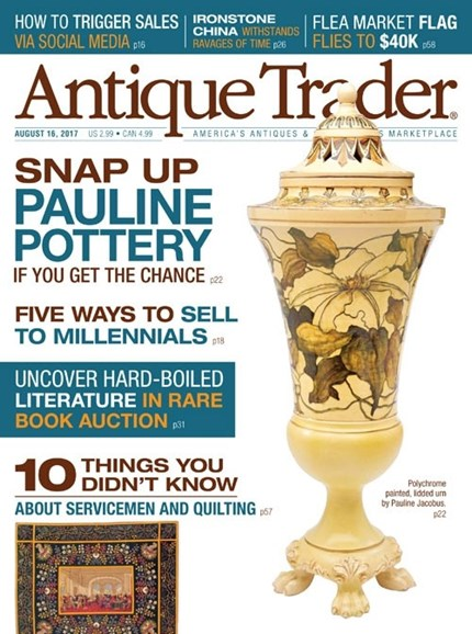Antique Trader Cover - 8/16/2017