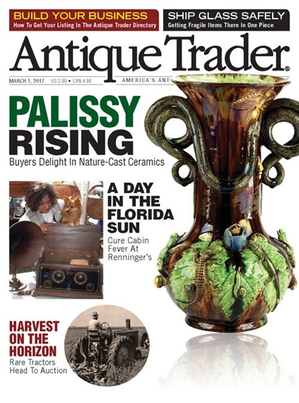 Antique Trader Cover - 3/1/2017