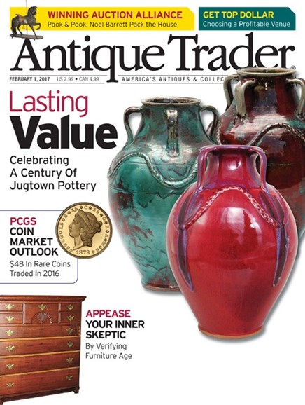 Antique Trader Cover - 2/1/2017