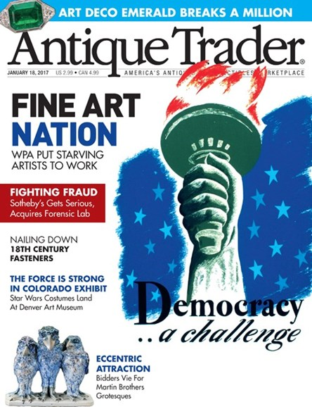 Antique Trader Cover - 1/18/2017