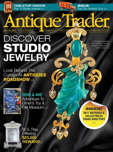 Antique Trader Cover - 7/19/2017