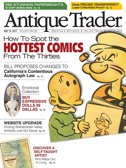 Antique Trader Cover - 5/10/2017