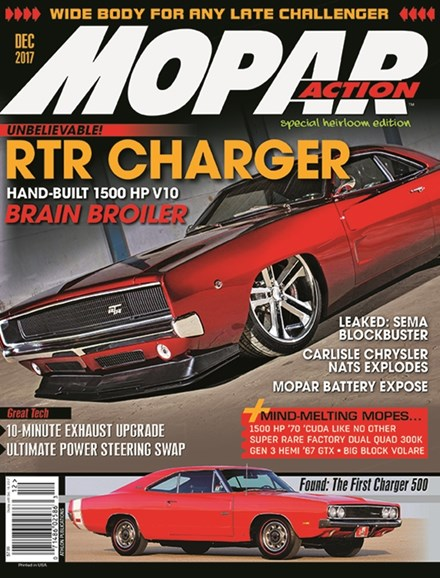 Mopar Action Cover - 12/1/2017