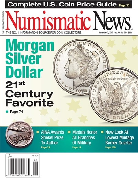 Numismatic News Cover - 11/7/2017