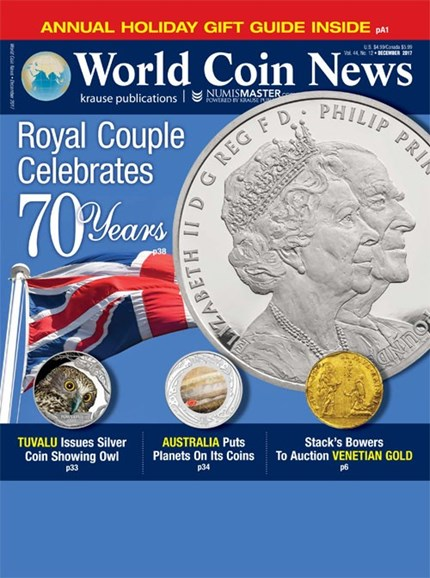 World Coin News Cover - 12/1/2017