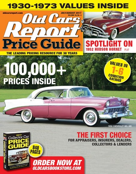 Old Cars Report Price Guide Cover - 7/1/2017