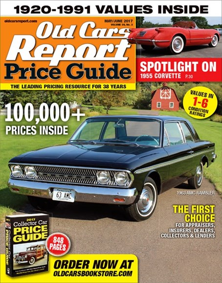 Old Cars Report Price Guide Cover - 5/1/2017