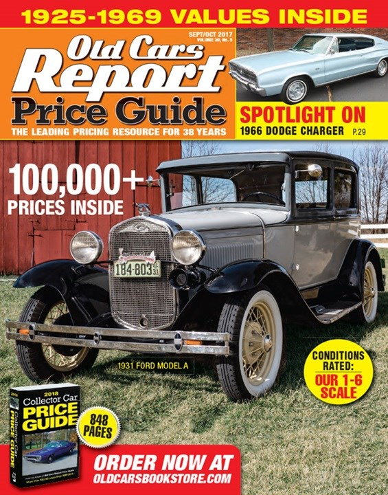 Old Cars Report Price Guide Save 49 Off The Cover Price