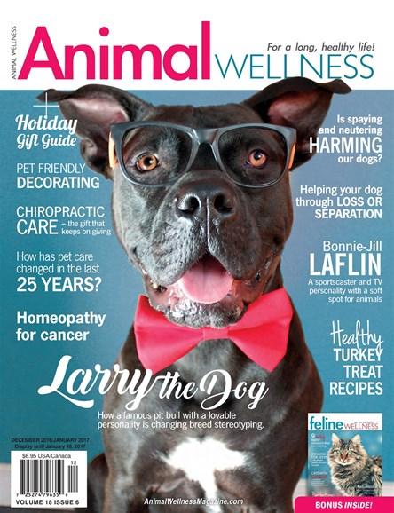 Animal Wellness Cover - 12/1/2016