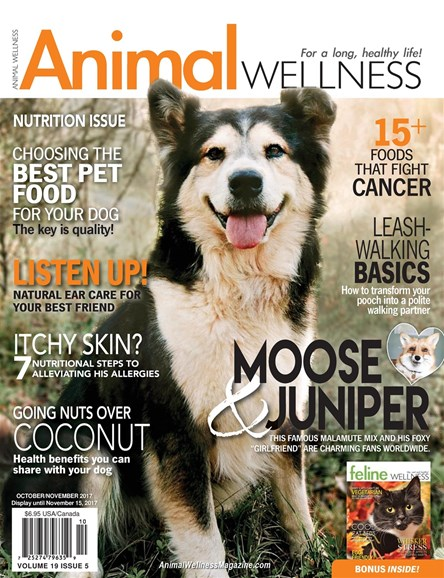 Animal Wellness Cover - 10/1/2017