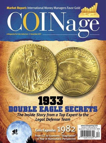 Coinage Cover - 12/1/2017