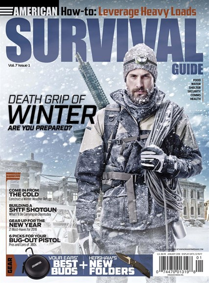 American Survival Guide Cover - 1/1/2018