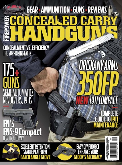 Concealed Carry Handguns Cover - 12/1/2015