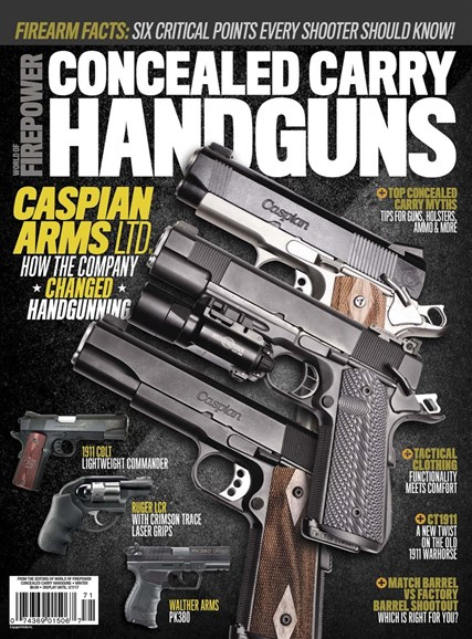 Concealed Carry Handguns Cover - 12/1/2016