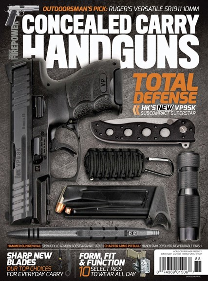 Concealed Carry Handguns Cover - 12/1/2017