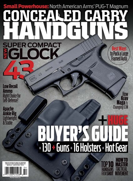 Concealed Carry Handguns Cover - 6/1/2015