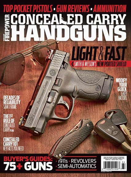 Concealed Carry Handguns Cover - 6/1/2016