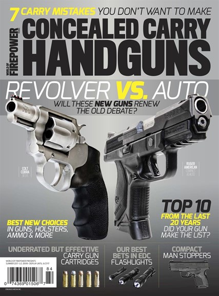 Concealed Carry Handguns Cover - 6/1/2017