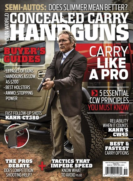 Concealed Carry Handguns Cover - 3/1/2015