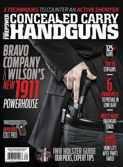 Concealed Carry Handguns Cover - 3/1/2016