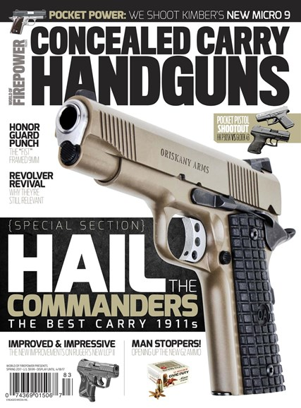 Concealed Carry Handguns Cover - 3/1/2017