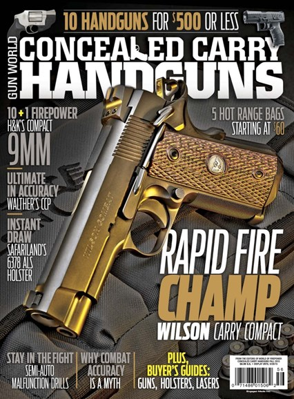 Concealed Carry Handguns Cover - 9/1/2015