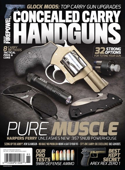 Concealed Carry Handguns Cover - 9/1/2017