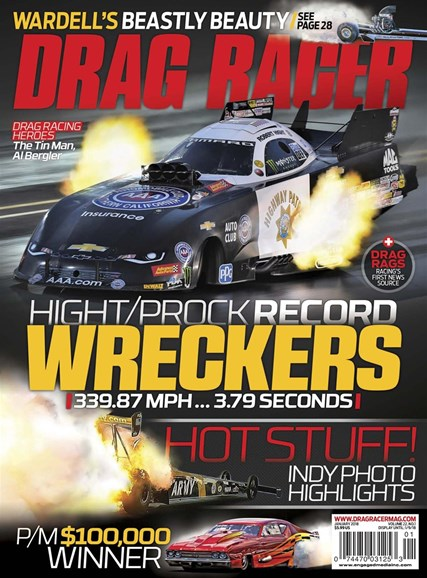 Drag Racer Cover - 1/1/2018