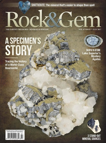 Rock & Gem Cover - 7/1/2017