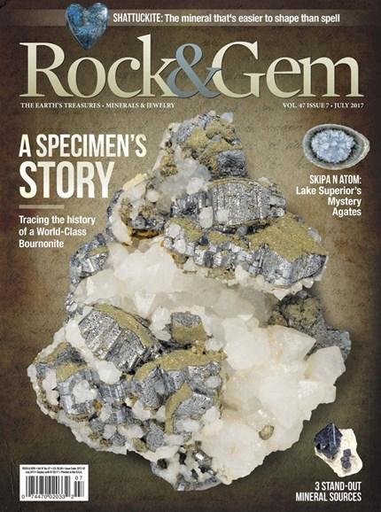 Rock & Gem Cover - 7/1/2017