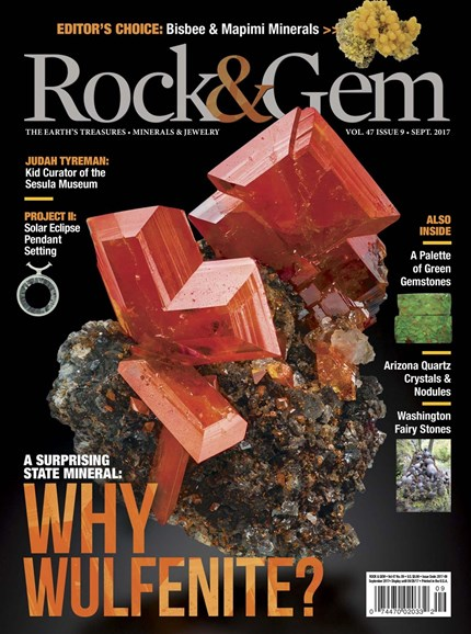 Rock & Gem Cover - 9/1/2017