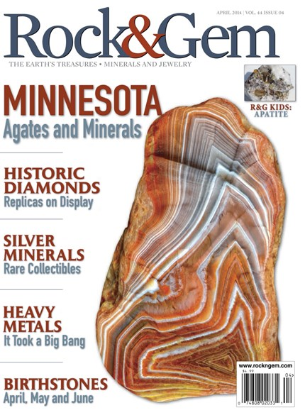 Rock & Gem Cover - 4/1/2014