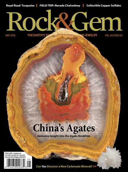 Rock & Gem Cover - 5/1/2016