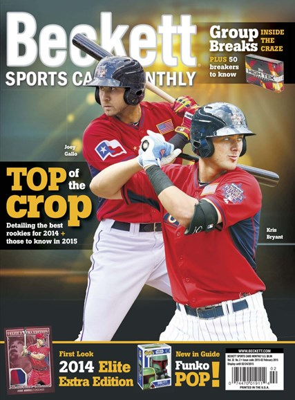 Beckett Sports Card Monthly Cover - 2/1/2015