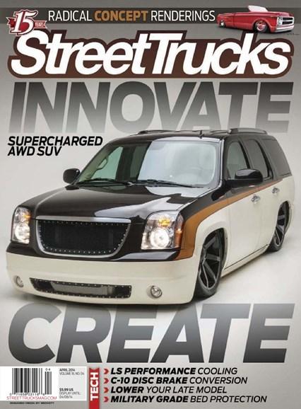Street Trucks Cover - 4/1/2014
