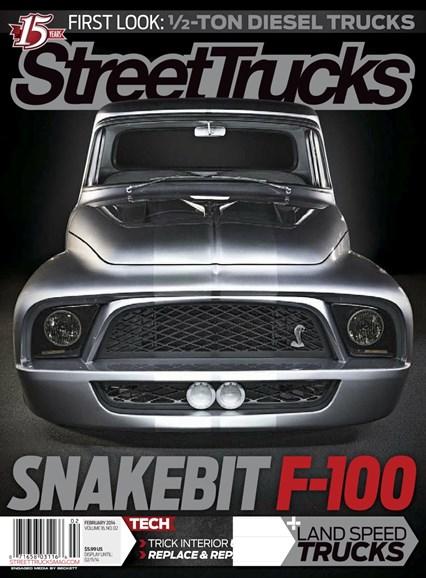 Street Trucks Cover - 2/1/2014
